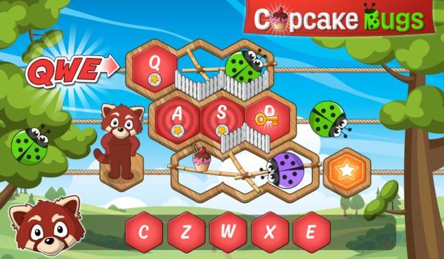 Cupcake bugs letter code screenshot